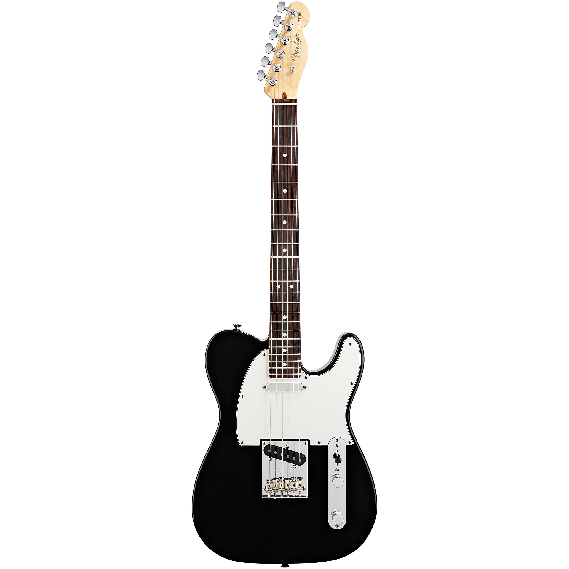 Fender american standard 2012 telecaster rw blk 171 electric guitar