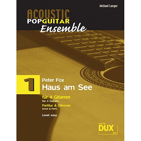 Libro de partituras Dux Acoustic Pop Guitar Ensemble 1 - Haus am See