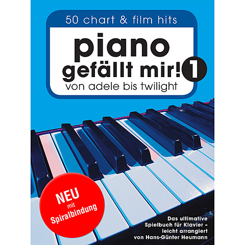 Bosworth Piano gefällt mir! (Spiralbindung)