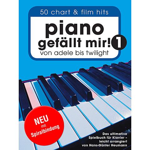 Libro de partituras Bosworth Piano gefällt mir!