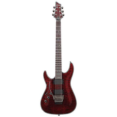 Schecter Hellraiser C-1 FR BCH « Guitarra eléctrica zurdos
