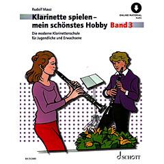 Schott Klarinette spielen - mein schönstes Hobby Bd.3 « Libros didácticos