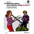 Libros didácticos Schott Klarinette spielen - mein schönstes Hobby Bd.3