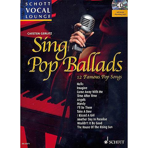Schott Schott Vocal Lounge Sing Pop Ballads
