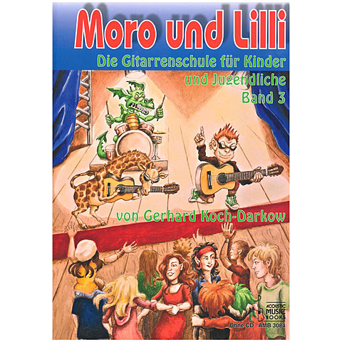 Leerboek Acoustic Music Books Moro und Lilli Bd.3