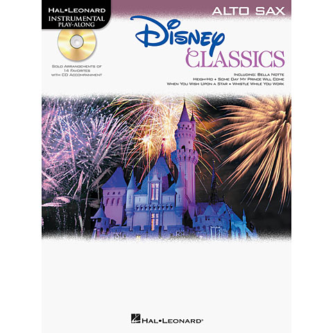 Play-Along Hal Leonard Disney Classics for Alto Sax