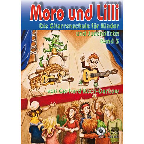Libros didácticos Acoustic Music Books Moro und Lilli Bd.3 +CD