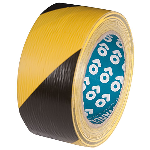 Cinta adhesiva 	 Advance Gaffa  AT 8H Safety Tape black/yellow