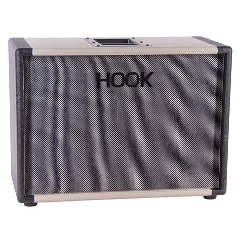 "Box E-Gitarre Hook 1x12"" Oval Back"