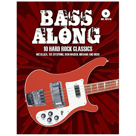 Play-Along Bosworth Bass Along - 10 Hard Rock Classics