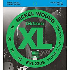 D'Addario EXL220S Nickel Wound .040-095 « Cuerdas bajo eléctrico