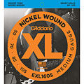 Set di corde per basso elettrico D'Addario EXL160S Nickel Wound .050-105