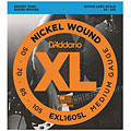 Set di corde per basso elettrico D'Addario EXL160SL Nickel Wound .050-105