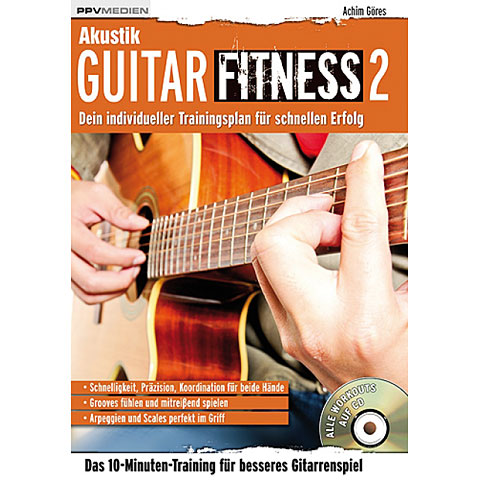 Libros didácticos PPVMedien Akustik Guitar Fitness 2