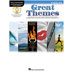 Hal Leonard Great Themes for Violin « Play-Along