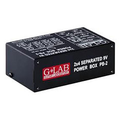 G-LAB PB-2 « Guitar/Bass Power Supplies