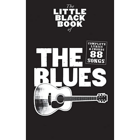 Music Sales The Little Black Book of The Blues