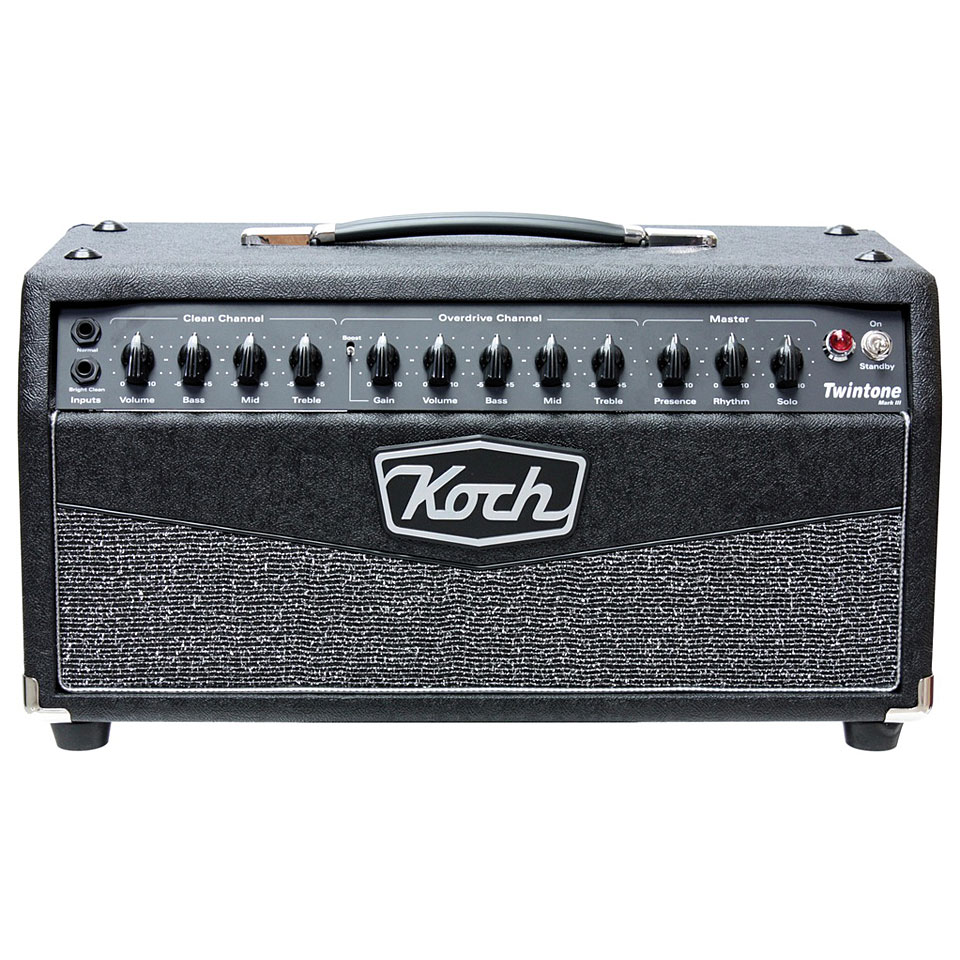koch amps twintone iii h guitar amp head. Black Bedroom Furniture Sets. Home Design Ideas