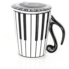 Music Sales Keramikbecher Keyboard Mug « Kaffeetasse