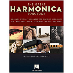 Hal Leonard The Great Harmonica Songbook « Notenbuch
