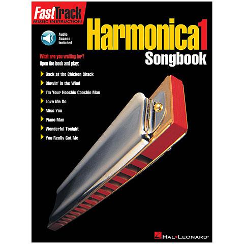 Notenbuch Hal Leonard Fast Track Harmonica Sonngbook 1