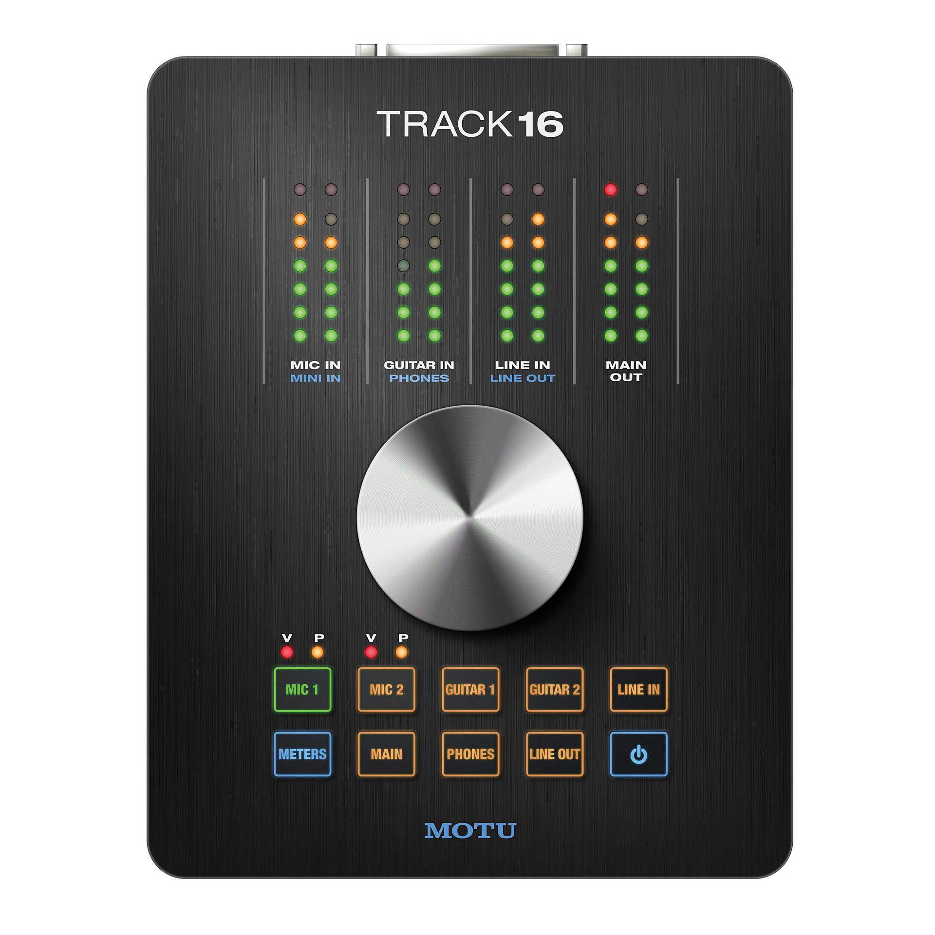 Motu Track16 Hybrid Firewire/usb 16-channel Audio Interface For Mac