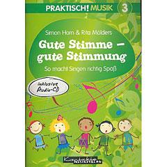 Kontakte Musikverlag Praktisch! Musik 3 - Gute Stimme - gute Stimmung « Lehrbuch