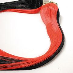 Josef Klier Nr. 132 Bell Lyre Tassels Red-Black