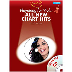 Music Sales All New Chart Hits - Playalong for Violin « Play-Along