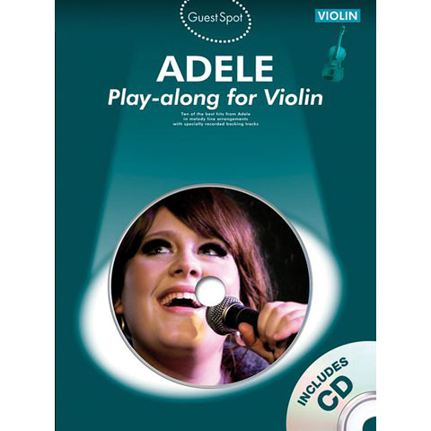 Music Sales Adele - Play-along for Violin