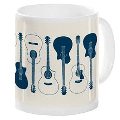 Music Sales Keramikbecher Acoustic Guitars Mug « Tazas