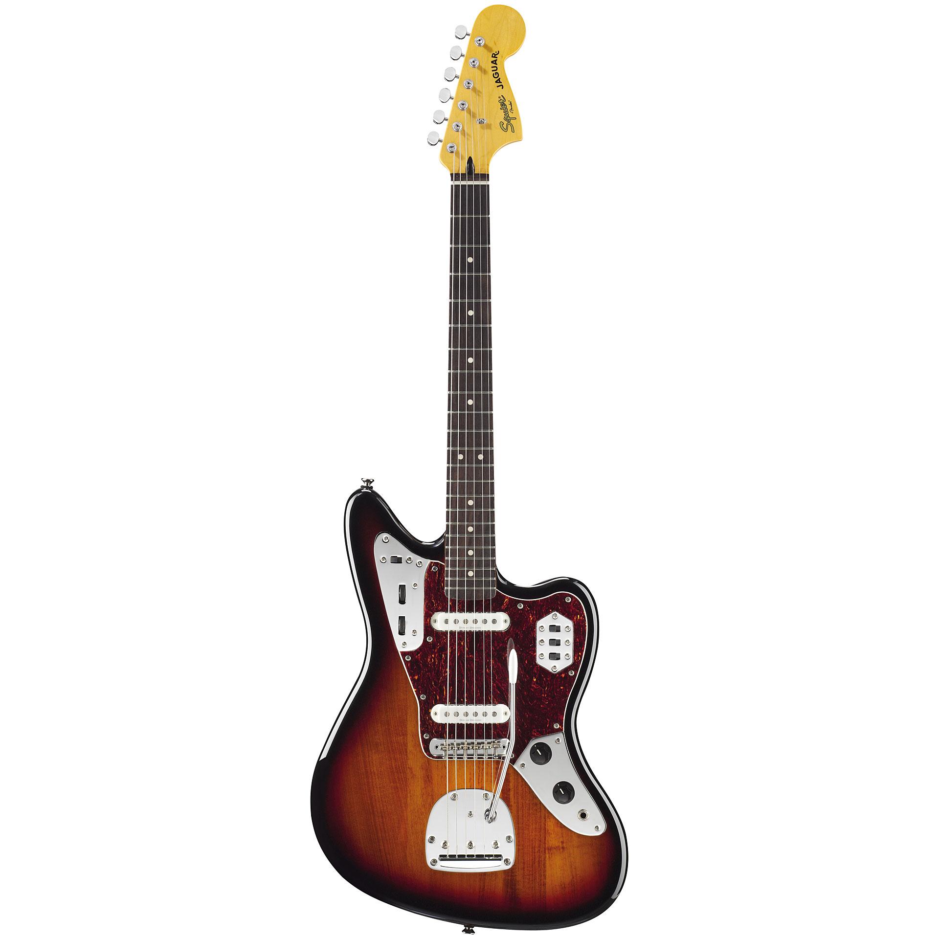squier vintage modified jaguar sc 3tsb electric guitar. Black Bedroom Furniture Sets. Home Design Ideas