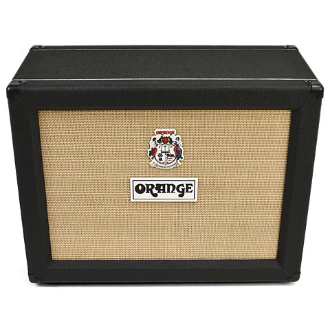 "Box E-Gitarre Orange PPC212 Open Back, 2x12"" BLK"