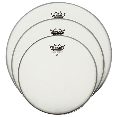 Remo Emperor Coated 12 /13 /16  Drum Head Pack