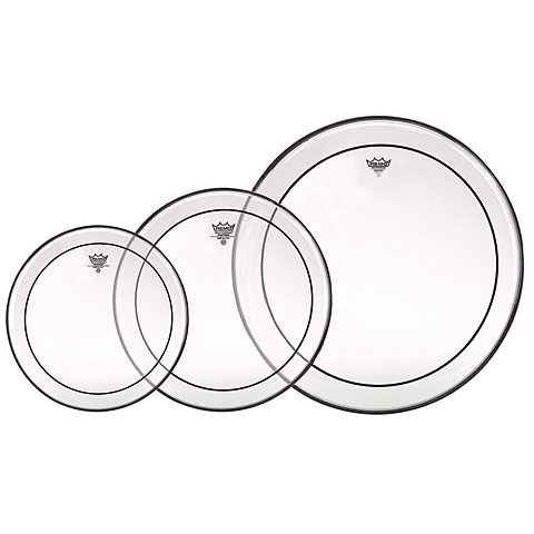 Remo Pinstripe Clear PP-0922-PS