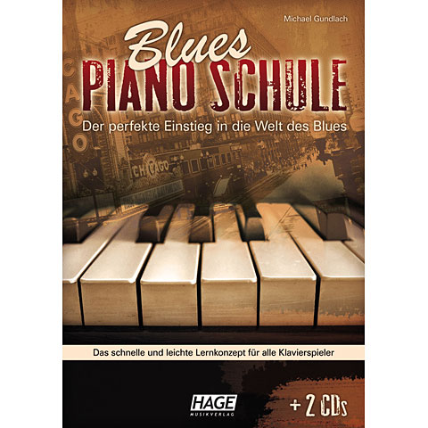 Hage Blues Piano Schule