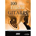 Libro di spartiti Hage Die 100 wichtigsten Etüden für klassische Gitarre