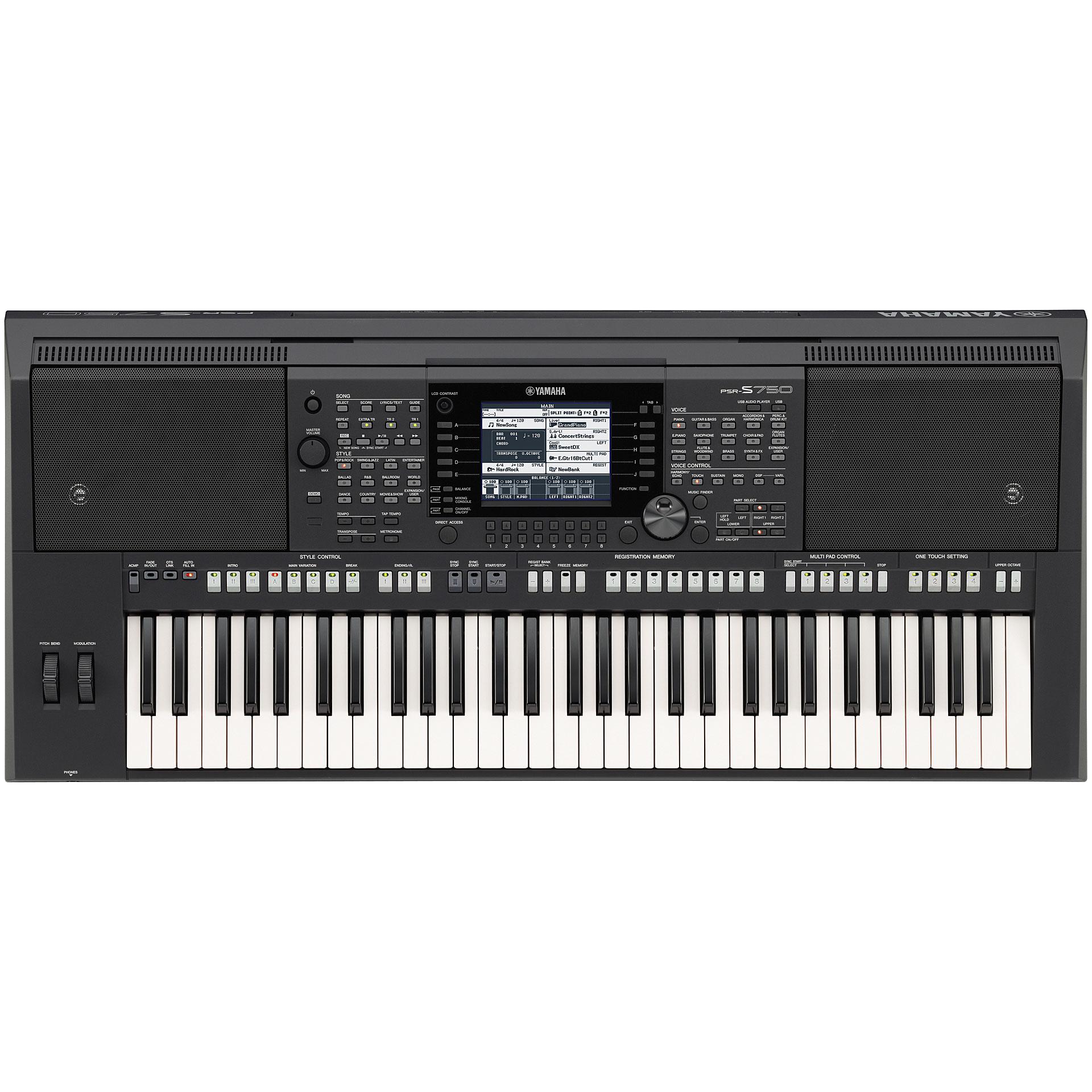 yamaha psr s750 keyboard. Black Bedroom Furniture Sets. Home Design Ideas