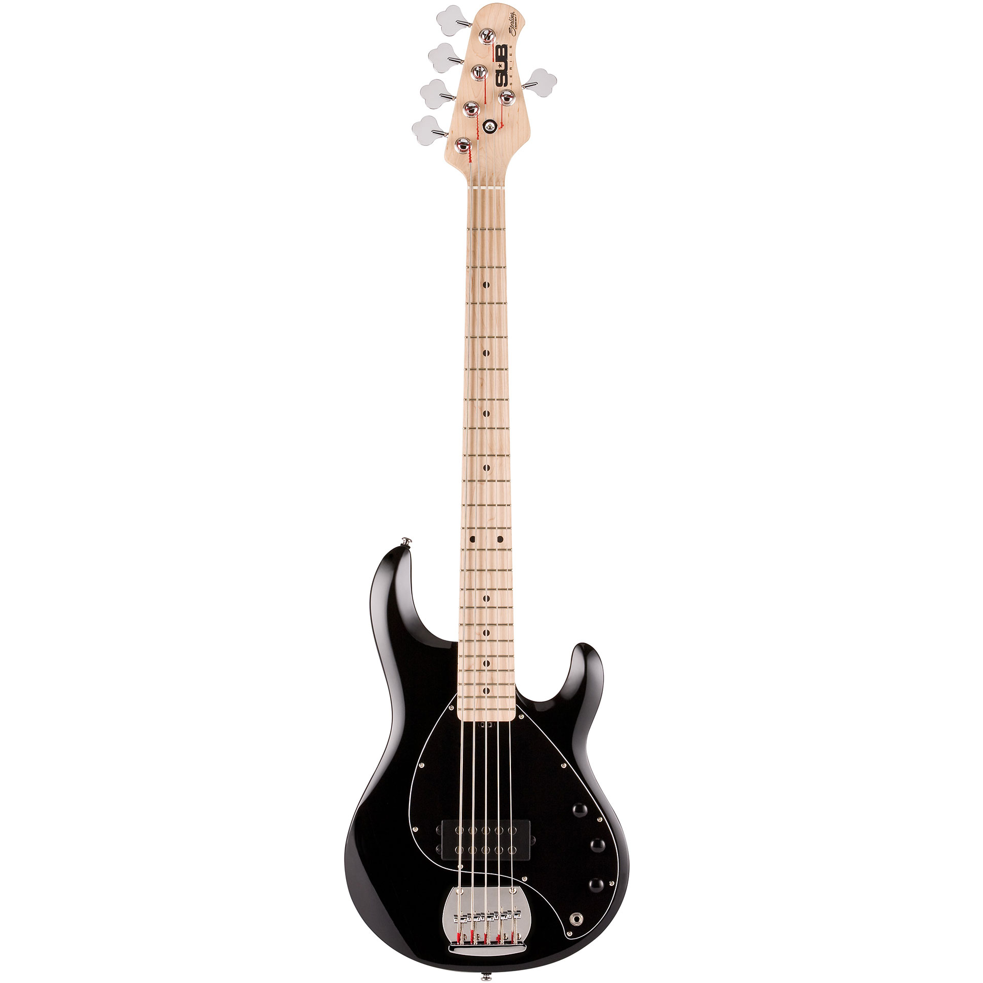 sterling by music man sub ray 5 bk electric bass guitar. Black Bedroom Furniture Sets. Home Design Ideas