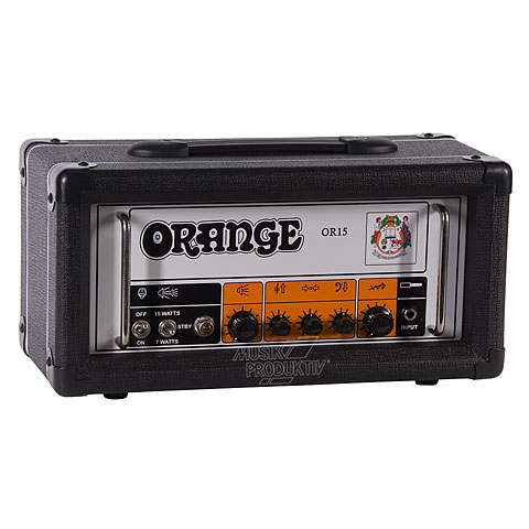 Cabezal guitarra Orange OR15H BLK