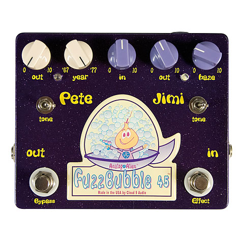 Effets pour guitare électrique Analog Alien Fuzzbubble-45