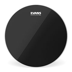 "Evans Black Chrome 14"" Tom Head « Peau de tom"
