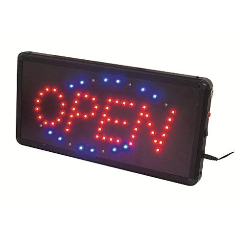 Lámpara decorativa Eurolite LED Sign OPEN classic