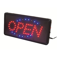 Eurolite LED Sign OPEN classic « Lampe décorative