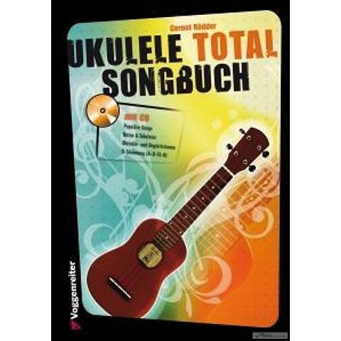 Libro de partituras Voggenreiter Ukulele Total - Das Songbuch