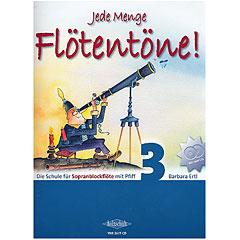 Holzschuh Jede Menge Flötentöne! 3 - Die Schule für Sopranblockflöte mit Pfiff (mit 2CDs) « Leerboek