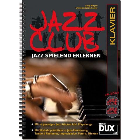 Lehrbuch Dux Jazz Club Klavier