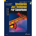 Instructional Book Schott Developing Jazz Technique, Wind Instruments