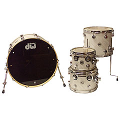 DW Collector´s Finish Ply White Twisted Satin « Batería