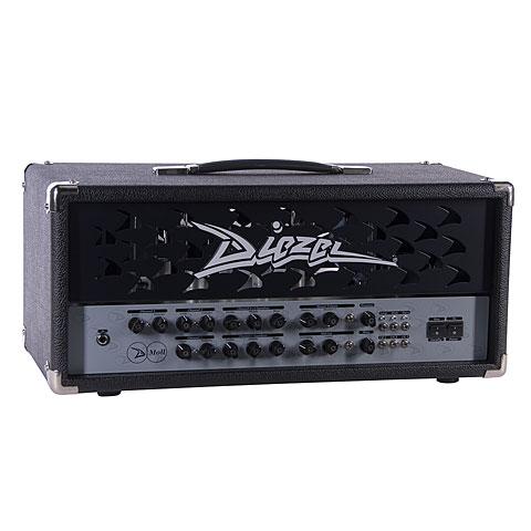 Topteil E-Gitarre Diezel D-Moll Metallgrill